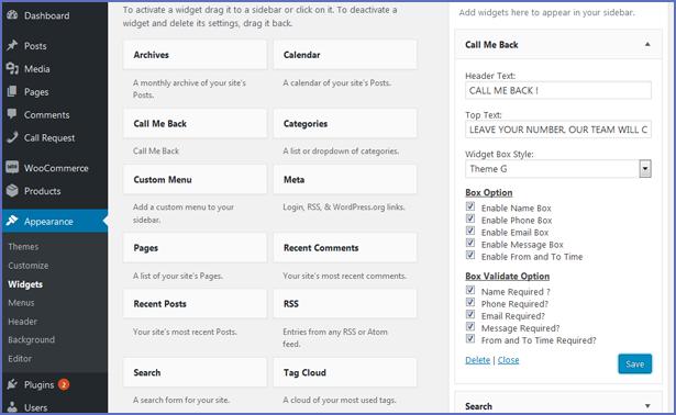Call Me Back WordPress Plugin - 15